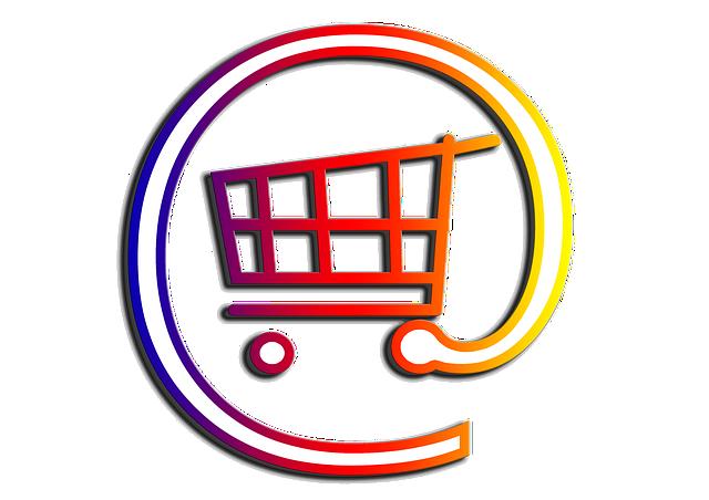 Einkaufswagen für das Online-Shopping im E-Commerce